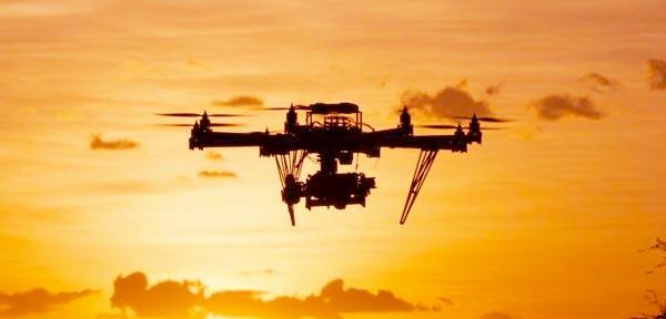 Riprese aeree con drone a Firenze