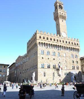 Palazzo Vecchio e la sezione aurea del cerchio.