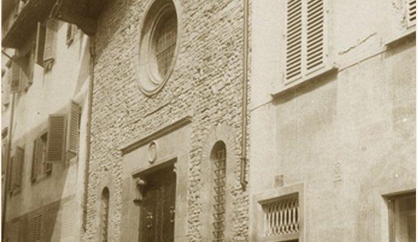 L'Oratorio di Santa Maria Vergine della Croce al Tempio