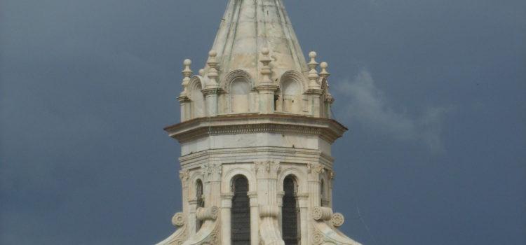 Sfera del Verrocchio, una storia di saette
