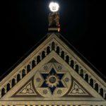 Santa Croce am...mirata dalla luna...
