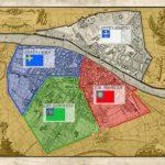 I quartieri fiorentini.