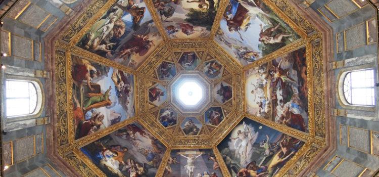 Cappelle Medicee: La Cupola della Cappella dei Principi.