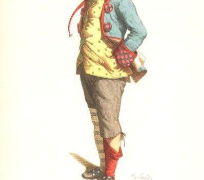 Stenterello, la maschera carnevalesca fiorentina.
