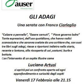 Gli Adagi, una serata con Franco Ciarleglio