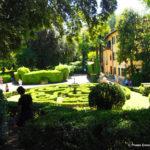 Il giardino incantato di Annalena in via Romana.