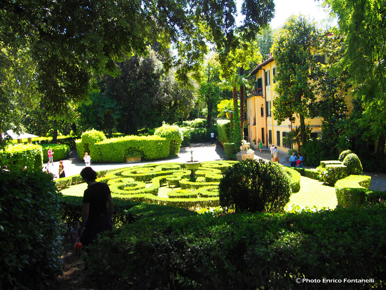 Il giardino incantato di annalena in via romana. florencecity