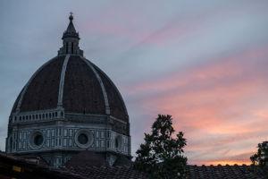 Un aperitivo con Brunelleschi alle Oblate di Firenze.