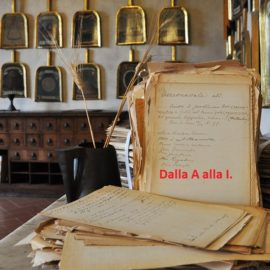 Il significato delle parole fiorentine. Dalla A alla I.