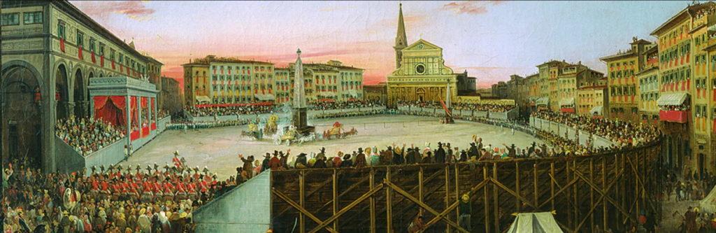 Giovanni Signorini - La corsa dei cocchi