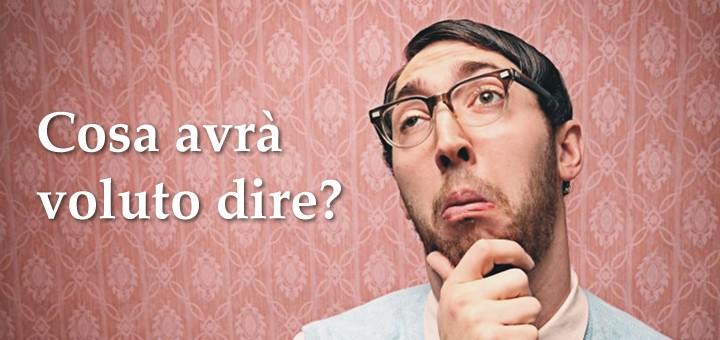 Vocabolario fiorentino per turisti e residenti di lunga durata.
