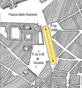 """""""stadium"""" romano di Florentia"""