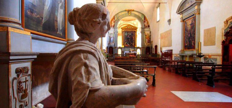 Atmosfera particolare da San Bartolomeo a Monte Oliveto.
