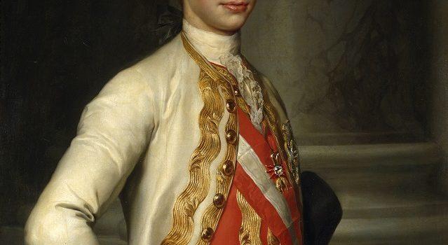 Pietro Leopoldo di Lorena Granduca di Toscana.