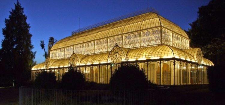 La più grande serra in Italia: Il tepidarium.