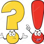Il Punto Interrogativo e il Punto Esclamativo.