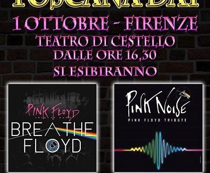 Un concerto di beneficenza unico! Pink Floyd a Firenze!