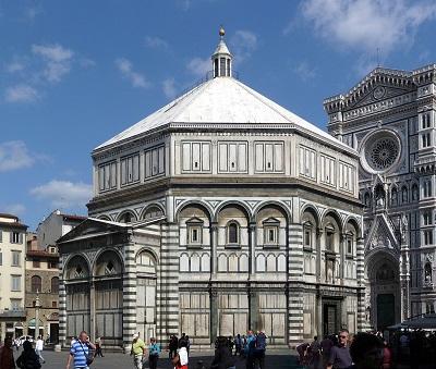 Il Battistero di Firenze e le oscure origini.