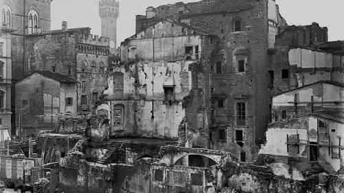 Il Ghetto di Firenze e il risanamento del centro storico.