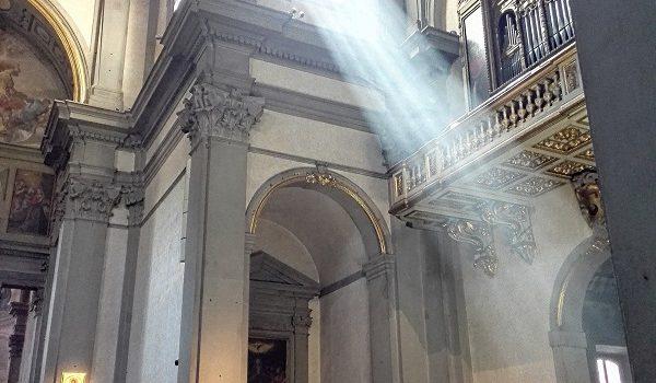Badia Fiorentina luce del mattino.