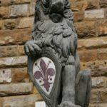 Il Giglio simbolo di Firenze.