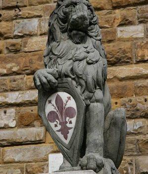 Il Marzocco simbolo di Firenze.
