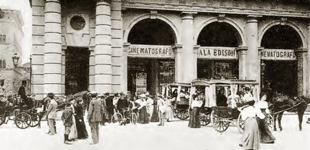 Il primo cinematografo europeo a Firenze, e non solo.