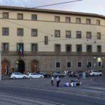 Firenze ex caserma dei Carabinieri: Il Chiostro Verde.