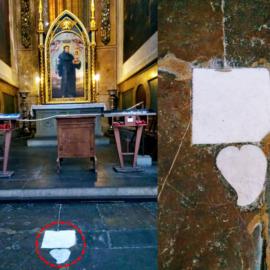 Un precedente antico in Santa Croce.