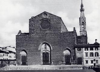 Il campanile di Santa Croce.