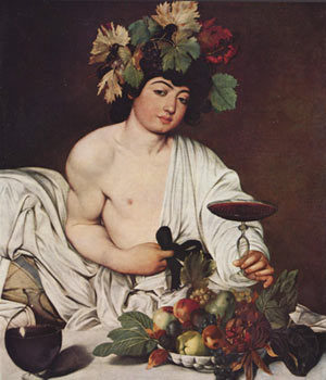 Caravaggio: la scoperta di un autoritratto nel Bacco.