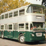 "Aerfer VE.111 ""Metropol"", autobus bipiano su meccanica Fiat 412."