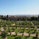 La Villa medicea di Castello con il suo spettacolare giardino rinascimentale italiano.