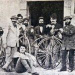 Prima corsa ciclistica, su strada, con partenza da Firenze.