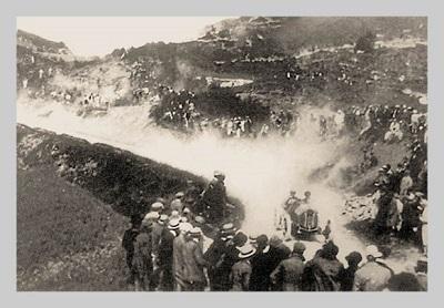 Quando il circuito del Mugello era lungo 66 km.