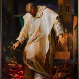 Pietro Igneo e la prova del fuoco.