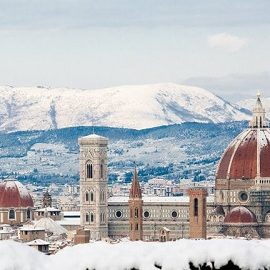 "Firenze ""imbiancata"""