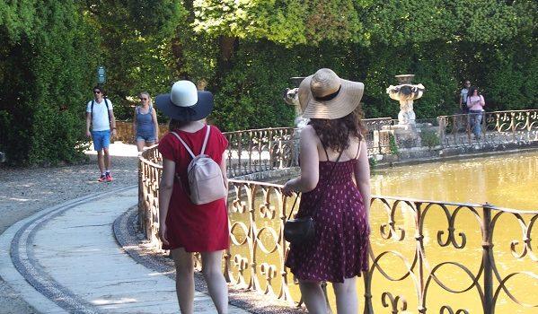 Passeggiando al Giardino di Boboli.