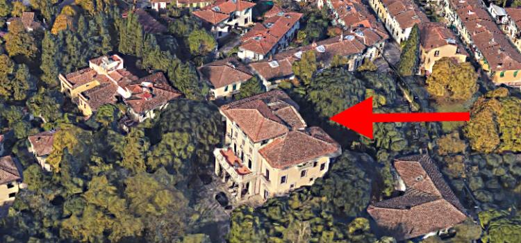 Villa della Gherardesca, la villa misteriosa.