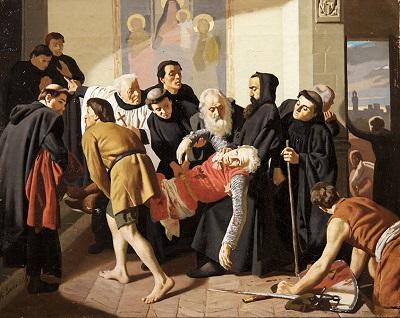 Dante Alighieri e Corso Donati – parenti serpenti.