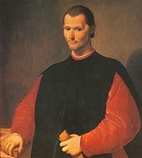 Liberare: Niccolò Machiavelli.