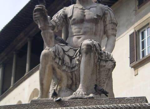 La leggenda della statua senza pace.
