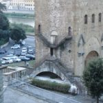 San Niccolò e lo strano gioco di porticine e scalette.