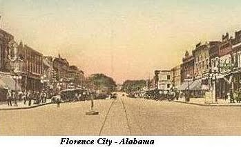 Florence City, Alabama.