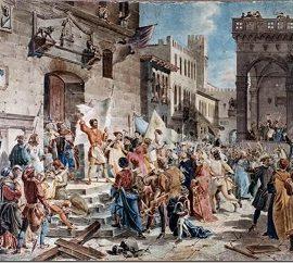 La rivolta dei Ciompi.