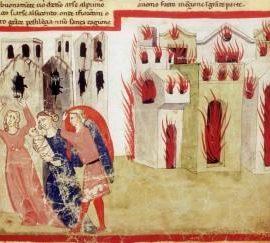 10 giugno 1304: Firenze va a fuoco.
