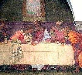 Sette cenacoli in affresco a Firenze.