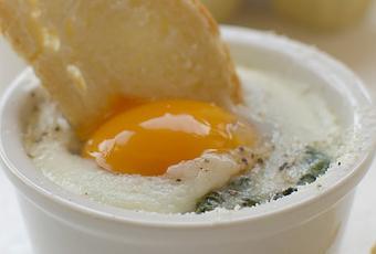 Uovo alla fiorentina.
