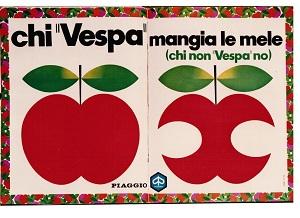Un cinquantennale per una piccola gloria fiorentina: La pubblicità della Vespa.