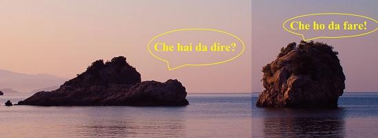 Tra il dire e il fare c'è di mezzo il mare.